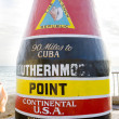Southernmost Point marker, Key West, Florida, USA — Stock Photo