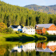 Countryside, Norway - Foto Stock