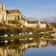 Постер, плакат: Auxerre Burgundy France