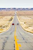 Road transporte, colorado, estados unidos — Foto de Stock