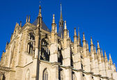 Cathedral of St. Barbara, Kutna Hora, Czech Republic — Stock Photo