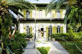 Hemingway house, key west, florida, usa — Stock fotografie