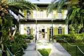 ヘミングウェイの家、キーウェスト、フロリダ、米国 — ストック写真