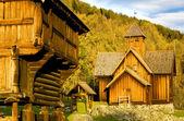 Uvdal Stavkirke, Norway — Stock Photo