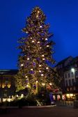 Place Broglie, Christmas time in Strasbourg, Alsace, France — Stock Photo