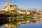 Auxerre, Burgundy, France — Stock Photo