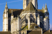 Detail of Auxerre Cathedral, Burgundy, France — Stock Photo