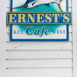 Ernest Hemingway's cafe, Key West, Florida, USA — стоковое фото #3534154
