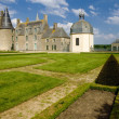 Stock Photo: Chateau des Rochers Sevigne