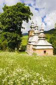деревянная церковь — Стоковое фото
