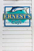 Ernest Hemingway's cafe, Key West, Florida, USA — Foto Stock