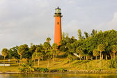 Lighthouse, Ponce Inlet, Florida, USA — Stock Photo