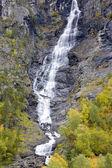 Borgund stavkirke、ノルウェー付近の風景します。 — ストック写真