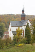 Klooster eberbach, hessen, duitsland — Stockfoto