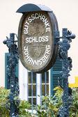 Město palác, hesensko, německo — Stock fotografie
