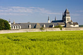 Fontevraud Abbey, Loire Valley, France — Stock Photo