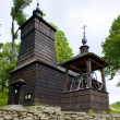 Stock Photo: Wooden church, Leluchow, Poland