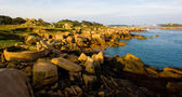 Coast, Ploumanac'h, Brittany, France — Stock Photo