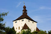 New Castle, Banska Stiavnica, Slovakia — Stock Photo