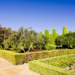 The gardens of the Alcazar of Catholic Kings, Cordoba — Stock Photo