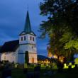 Church, Nes, Norway — Stock Photo