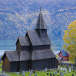 Stock Photo: Urnes Stavkirke, Norway