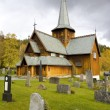 Stock Photo: Hedal Stavkirke, Norway