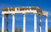 Detail of Roman Theatre, Merida, Badajoz Province, Extremadura, — Stock Photo