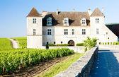Clos Blanc De Vougeot Castle, Burgundy, France — Stock Photo