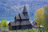 Urnes Stavkirke, Norway — Stock Photo