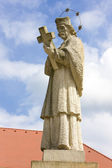 Statue of Saint Jan Nepomucky — Stock Photo