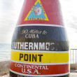 Southernmost Point marker, Key West, Florida, USA — Stok fotoğraf