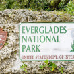 Entrance, Everglades National Park, Florida, USA — Stock Photo #3603898