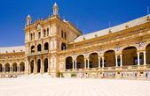 španělské náměstí, sevilla — Stock fotografie