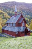 Borgund stavkirke, norsko — Stock fotografie