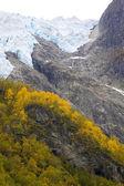 Supphellebreen glaciär, nationalparken jostedalsbreen, norge — Stockfoto