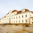 Castle in Rychnov nad Kneznou, Czech Republic - Foto Stock