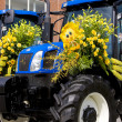 Stock Photo: Tractors, Flower Parade, Noordwijk, Netherlands