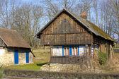 古いコテージには、kralova lhota、チェコ共和国 — ストック写真