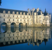 Chenonceaux chateau — Stock Photo