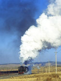 Steam train, China — Stock Photo