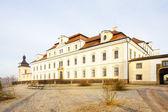 Rychnov nad kneznou、チェコ共和国の城 — ストック写真