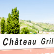 Stock Photo: Chateau Grillet, Rhone-Alpes, France
