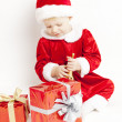 Royalty-Free Stock Photo: Little girl as Santa Claus
