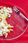 Noel patates salatası — Stok fotoğraf