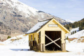 Depot, Silverton, Colorado, USA — Stock Photo