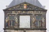 Town hall's detail, Gouda, Netherlands — Stock Photo