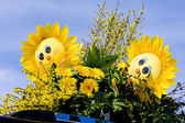 Bouquet, Flower Parade, Noordwijk, Netherlands — Stock Photo