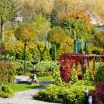 Garden in Bojnice, Slovakia — Stock Photo