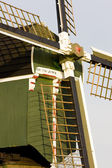 Windmill's detail, Tienhoven, Netherlands — Stock Photo